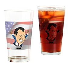 President Richard Nixon Drinking Glass
