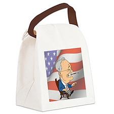 President Franklin D. Roosevelt Canvas Lunch Bag