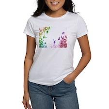 Whimsical Rainbow Fairy Tee