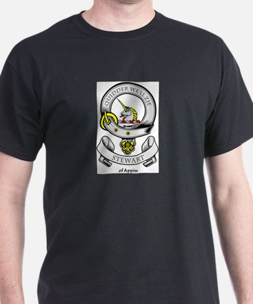 STEWART OF APPIN Coat of Arms T-Shirt