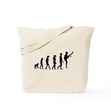 Football Punter Evolution Tote Bag
