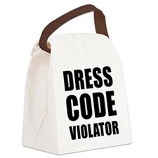 Dress Code  Canvas Lunch Bag