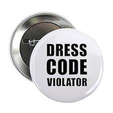 """Dress Code  2.25"""" Button"""