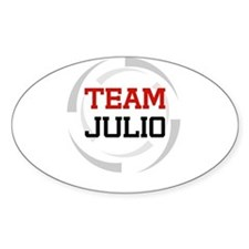 Julio Oval Decal