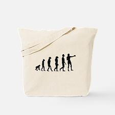 Boxing Evolution Tote Bag