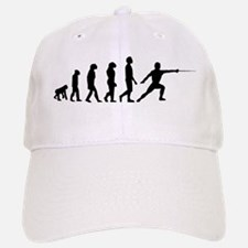 Fencing Evolution Baseball Baseball Baseball Cap
