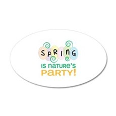 Natures Party Wall Decal