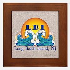 The LBI Wave... Framed Tile
