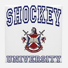 SHOCKEY University Tile Coaster