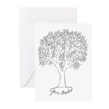Give Thanks Tree Greeting Cards