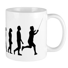 Fencing Evolution Mugs