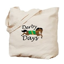Derby Days Tote Bag