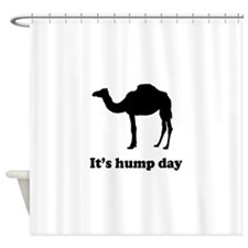 It's hump day Shower Curtain