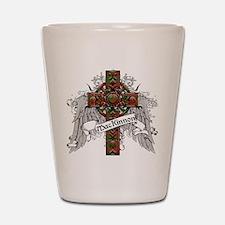 MacKinnon Tartan Cross Shot Glass