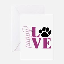 Puppy Love Greeting Cards