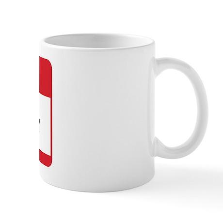 Hello My Name is Dad Tag Mug
