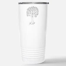 Give Thanks Tree Travel Mug
