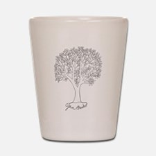 Give Thanks Tree Shot Glass