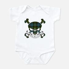 MacKenzie Tartan Skull Infant Bodysuit