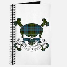 MacKenzie Tartan Skull Journal