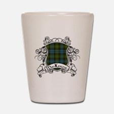 MacKenzie Tartan Shield Shot Glass