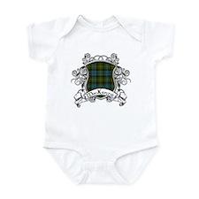 MacKenzie Tartan Shield Infant Bodysuit