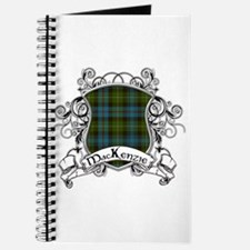 MacKenzie Tartan Shield Journal