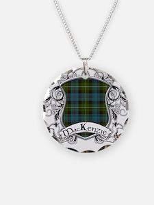 MacKenzie Tartan Shield Necklace