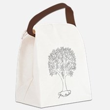 Give Thanks Tree Canvas Lunch Bag