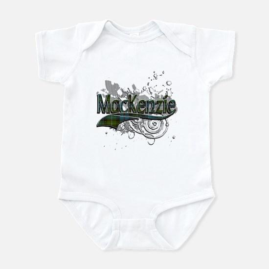 MacKenzie Tartan Grunge Infant Bodysuit