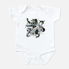 MacKenzie Tartan Lion Infant Bodysuit
