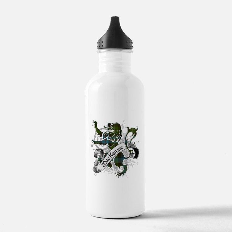 MacKenzie Tartan Lion Water Bottle