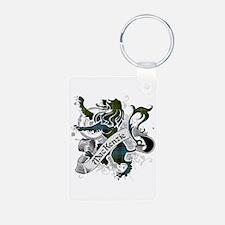 MacKenzie Tartan Lion Keychains