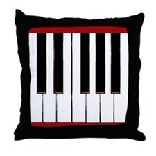 One Octave Throw Pillow