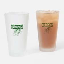 Oregon Roots Drinking Glass