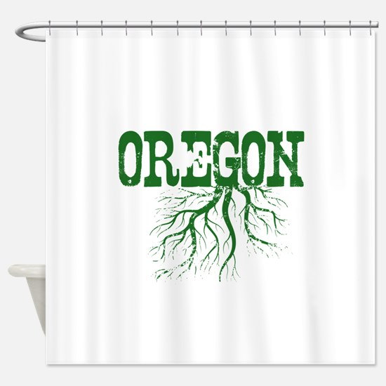 Oregon Roots Shower Curtain