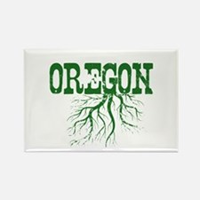 Oregon Roots Rectangle Magnet