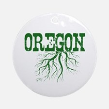 Oregon Roots Ornament (Round)