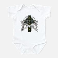 MacKenzie Tartan Cross Infant Bodysuit