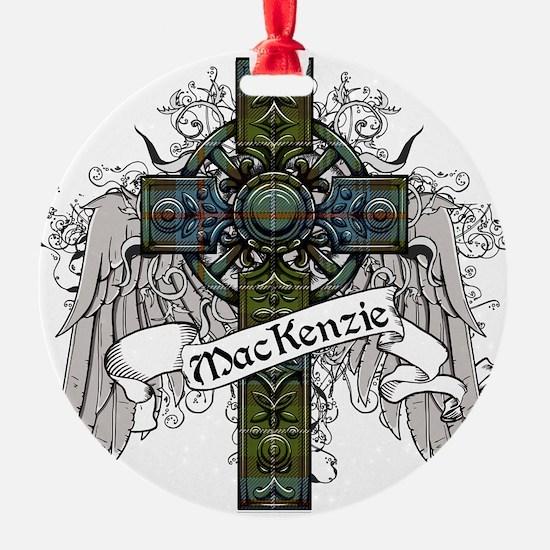 MacKenzie Tartan Cross Ornament