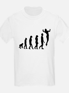 Volleyball Serve Evolution T-Shirt