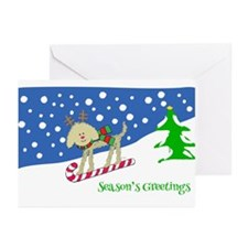 Goldendoodle Christmas Greeting Cards (Pk of 20)