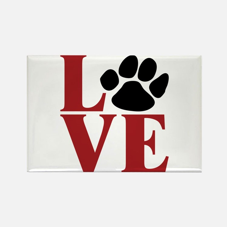Love Paw Magnets