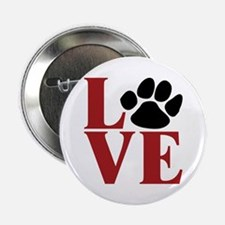 """Love Paw 2.25"""" Button (10 pack)"""