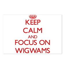 Cute Wigwam Postcards (Package of 8)