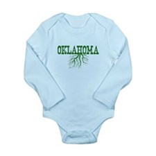 Oklahoma Roots Long Sleeve Infant Bodysuit