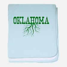 Oklahoma Roots baby blanket