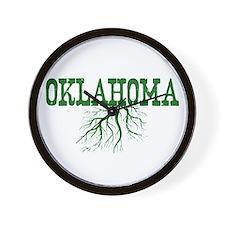 Oklahoma Roots Wall Clock