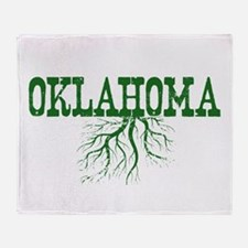 Oklahoma Roots Throw Blanket