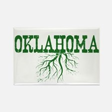 Oklahoma Roots Rectangle Magnet
